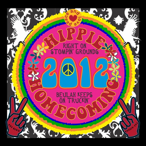 Hippie Homecoming Beulah Colorado 2012 banner