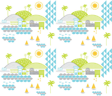 Laguna fabric by fable_design on Spoonflower - custom fabric
