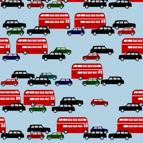 London_fabric fabric by uk_lass_in_us on Spoonflower - custom fabric
