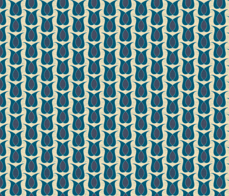 tulipine fabric by holli_zollinger on Spoonflower - custom fabric