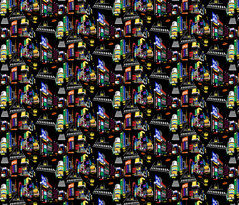 Tokyo fabric by minimiel on Spoonflower - custom fabric