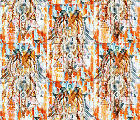 Deco Decay fabric by whimzwhirled on Spoonflower - custom fabric