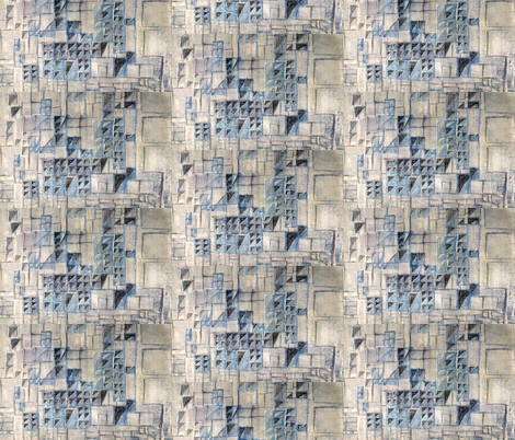 Texture of Barcelona fabric by tissu-de-jardins on Spoonflower - custom fabric