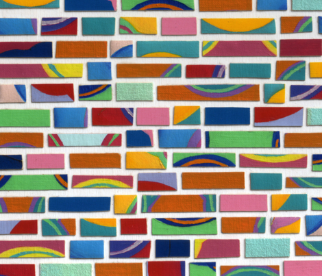 Bricks fabric by jamesmelcher on Spoonflower - custom fabric