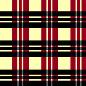 Red Stormy Plaid