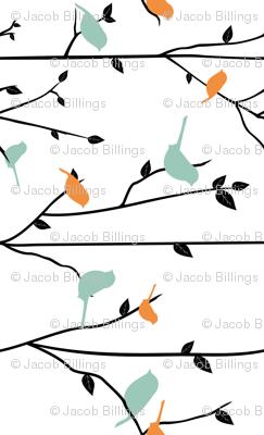 Spring Birds - Rotated