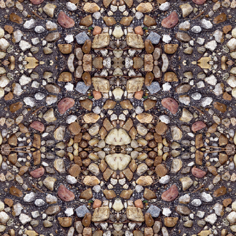 Sticks and Stones (mirror) fabric by eclectic_house on Spoonflower - custom fabric
