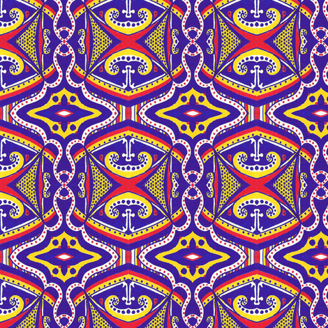 Under the Big Top fabric by siya on Spoonflower - custom fabric