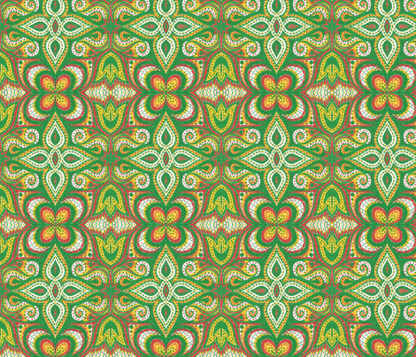 Garden Spice fabric by siya on Spoonflower - custom fabric