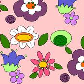fiori in pink