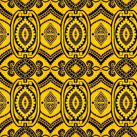Pittsburghia fabric by siya on Spoonflower - custom fabric