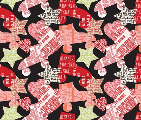 Do You Speak Roller Derby? - 2 fabric by owlandchickadee on Spoonflower - custom fabric