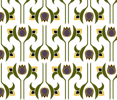 Art Deco 3 fabric by newmom on Spoonflower - custom fabric