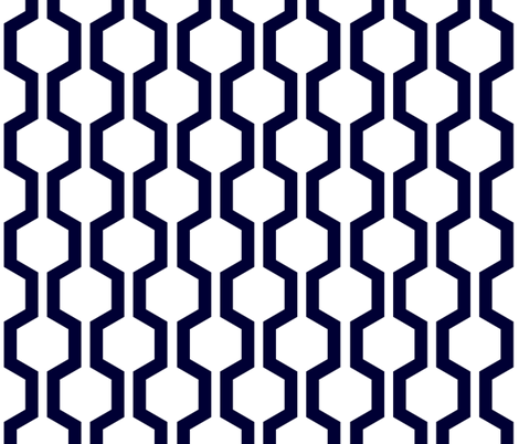 ABP lattice white fabric by amybethunephotography on Spoonflower - custom fabric