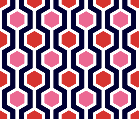 ABP jazzy lattice fabric by amybethunephotography on Spoonflower - custom fabric