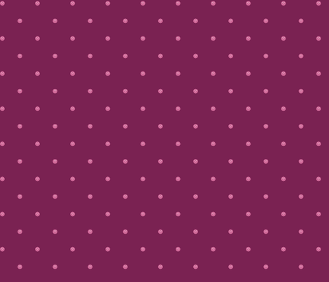 Teeny Monster Polka Dots - Girly - Dark