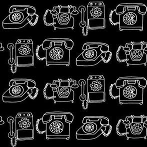 Rotary Telephone - B/W