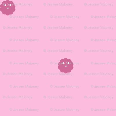 Teeny Monster Polka Dots - Girly - Light