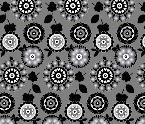 Black&White_02 fabric by zeinab on Spoonflower - custom fabric