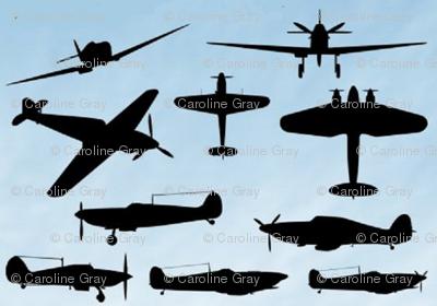 WW2 silhouettes