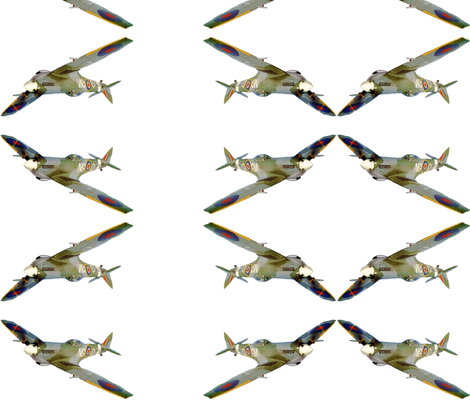 Spitfire1jpg-ed fabric by podaiboo on Spoonflower - custom fabric