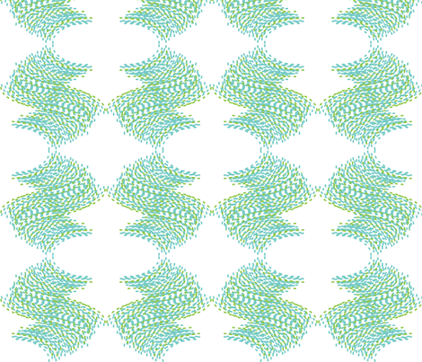 small waves fabric by fable_design on Spoonflower - custom fabric
