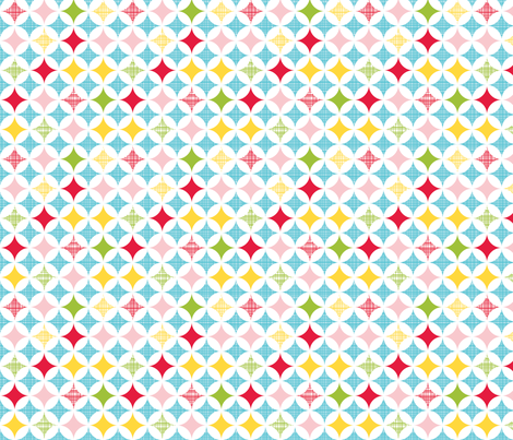 small diamond star fabric by whimsiekim on Spoonflower - custom fabric