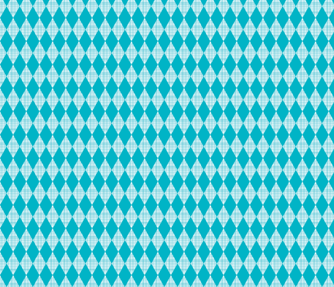 small blue diamond fabric by whimsiekim on Spoonflower - custom fabric