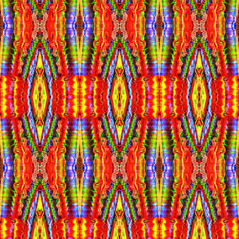 Rainbow Lights fabric by glennis on Spoonflower - custom fabric