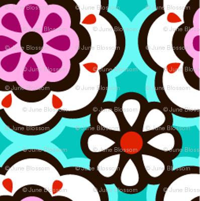PAISLEY GARDEN geometric floral