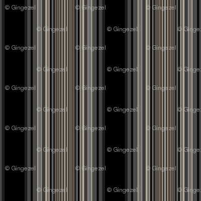 Black and Brown Stripe © Gingezel 2012