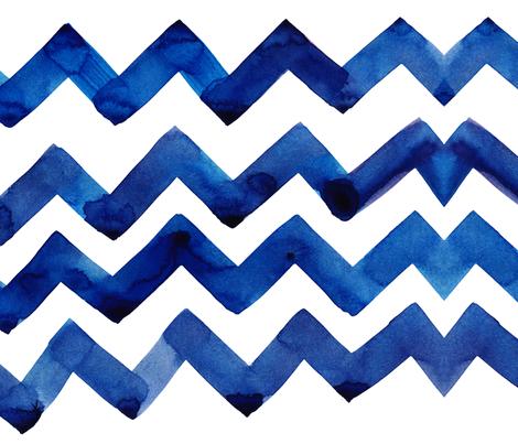 cestlaviv_original navy blue fabric by cest_la_viv on Spoonflower - custom fabric