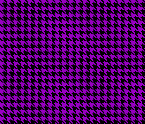Purple Hounds Tooth fabric by mysteek on Spoonflower - custom fabric