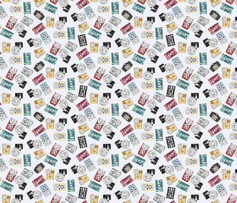 Classic Cameras fabric by mactire on Spoonflower - custom fabric