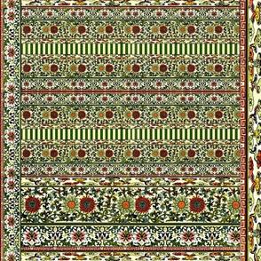 Vintage Oriental Stripes