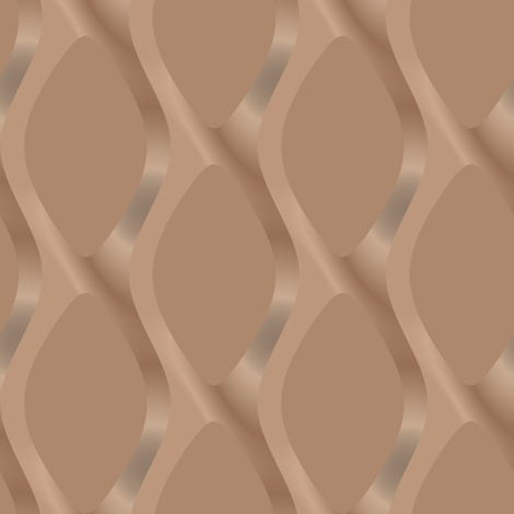 Soft Brown Scultped Mesh Large © Gingezel™ 2011 fabric by gingezel on Spoonflower - custom fabric