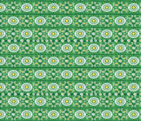 daisy fabric by kirpa on Spoonflower - custom fabric
