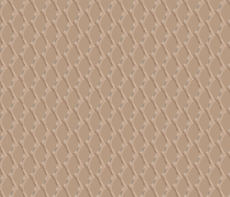 Soft Brown Scultped Mesh Small © Gingezel™ 2011 fabric by gingezel on Spoonflower - custom fabric