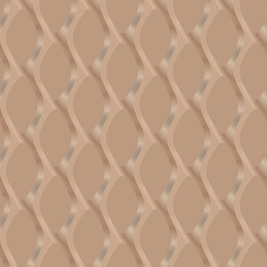 Soft Brown Scultped Mesh Small © Gingezel™ 2011
