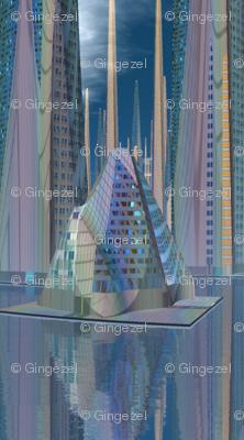 Tamara Alien Cityscape small © Gingezel™ 2012