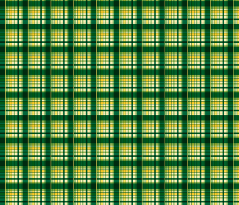 Lemonade Plaid fabric by mysteek on Spoonflower - custom fabric