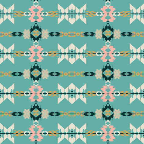 Native Stripe fabric by gimlet on Spoonflower - custom fabric