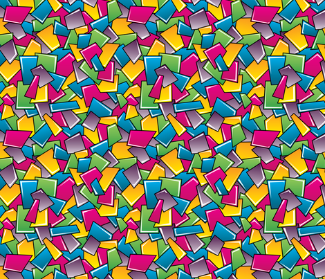 Street Squares fabric by robyriker on Spoonflower - custom fabric