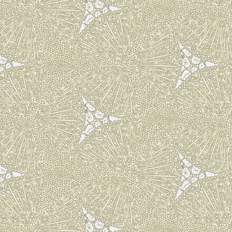 Sea Urchins fabric by glimmericks on Spoonflower - custom fabric