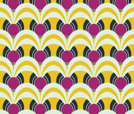 artdeco3 - speakeasy day dance fabric by kmadrid on Spoonflower - custom fabric