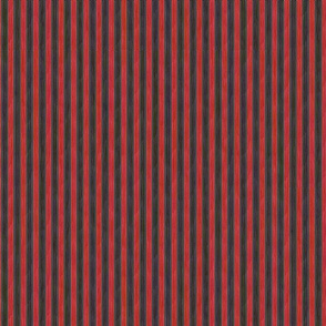 Painterly Bordello Stripe