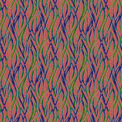 swarming fabric by glimmericks on Spoonflower - custom fabric