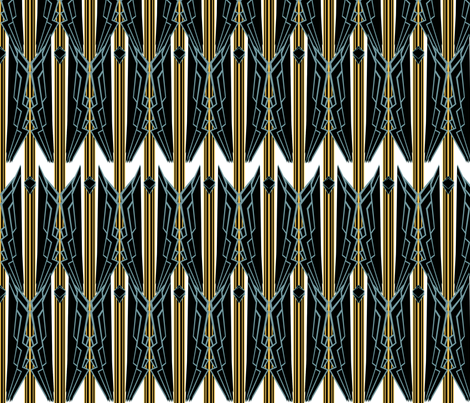 Theater Entrance fabric by kitschkat on Spoonflower - custom fabric