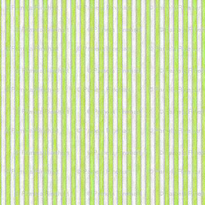 Painterly Green Apple Stripe