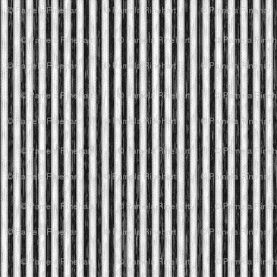 Painterly Black Stripe